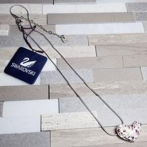 Swarovski Jewelry - Swarovski Rhinestone heart necklace